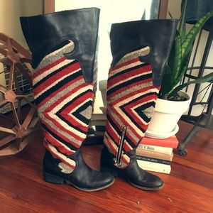 FreeBird Boots by Free People -Wool and leather 7